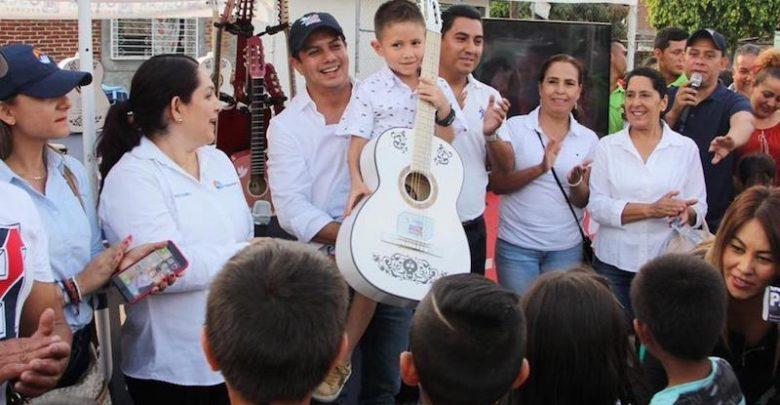 Con este programa se invita a los niños y jóvenes a participar mostrando su talento artístico y cultural para prevenir la inseguridad: Óscar Escobar