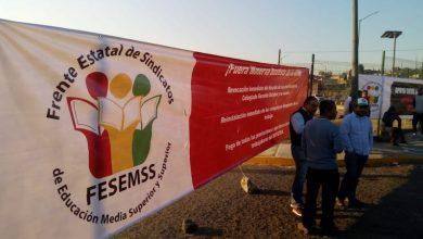 Los sindicalizados son apoyados por el FESEMSS