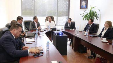 El gobernador Silvano Aureoles se reúne con integrantes de la Unidad Especializada de Combate al Secuestro, a quienes felicita por su buen desempeño para hacer frente a los delitos de alto impacto