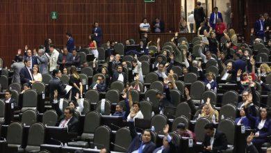 La votación se dio la siguiente manera: 396 votos a favor, 68 en contra y una abstención