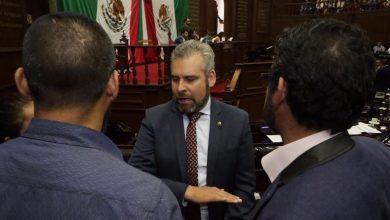 Ramírez Bedolla acusa a los diputados del PRD y del PAN de pretender rechazar la propuesta de su partido