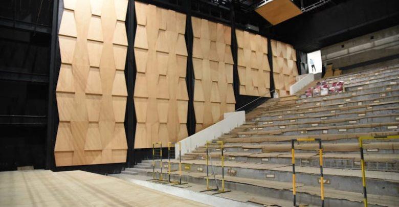 Concluida, primera etapa de acabados en el Teatro Mariano Matamoros -  Atiempo