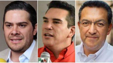 Los suspirantes, PRI, Eduardo Orihuela, Alejandro Moreno, Wilfrido Lázaro