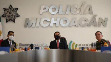 Silvano Aureoles, Policía Michoacán