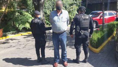 Adalberto Frutuoso Comparán Rodríguez, detenido