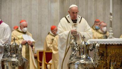 Papa Francisco, Misa Crismal