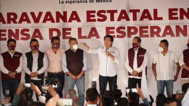 Raúl Morón, Mario Delgado, Morena