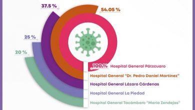 ocupación hospitalara, COVID-19
