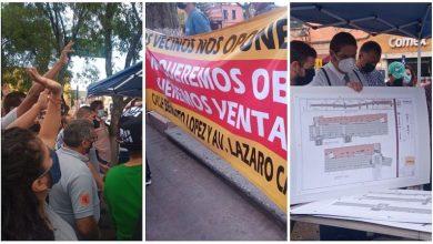 manifestantes, Morelia