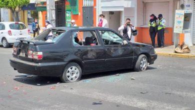 auto golpeado