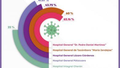 ocupación hospitalaria, COVID-19